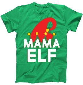 Christmas Mama Elf T-Shirt