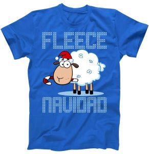 Fleece Navidad Sheep Lamb Ugly Christmas T-Shirt