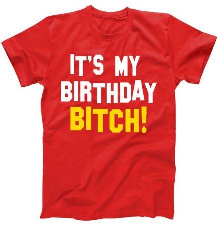 It's My Birthday Bitch! T-Shirt