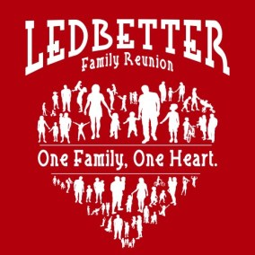Ledbetter, One Family, One Heart Design