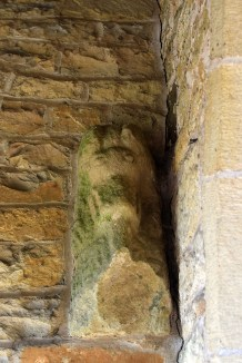 Stanwick Church hogback fragment