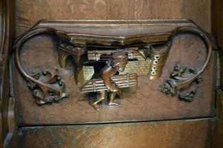 Ripon Misericord i