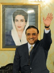 Asif Ali Zardari in Presidency