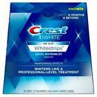 NEW Crest 3D No Slip Whitestrips Teeth Whitening Professional Effects 40 Strips