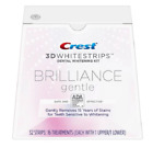 CREST 3D Brilliance Gentle Whitestrips Teeth Whitening Strips Dental Whitener