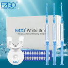 EZGO White Smile Teeth Whitening Kit Bleaching System Non Sensitive Gel FDA