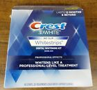 Crest 3D White Professional Effects Whitestrips Strips Kit New Sealed 40 strips