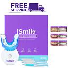 iSmile Teeth Whitening Kit LED Light 35% Carbamide Peroxide 3 3ml Gel Syringes 1
