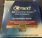 CREST 3D Glamorous White Whitestrips Teeth Whitening Strips Dental EXP/2021 New
