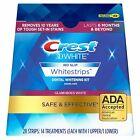 CREST 3D Glamorous White Whitestrips Teeth Whitening Strips Dental In Sealed Box