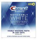 Crest Whitestrips Noticeably White Teeth Whitening Treatment 20-STRIPS sealedNIB