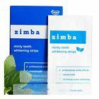 Zimba Minty Teeth Whitening Strips – 28 Count (14 treatments)