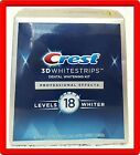 40 strips – Crest 3D Whitestrips Professional Effects New Sealed Box FE/2022