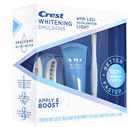 Crest Whitening Emulsions Leave-on Teeth Whitening Kit with LED Light ( New )