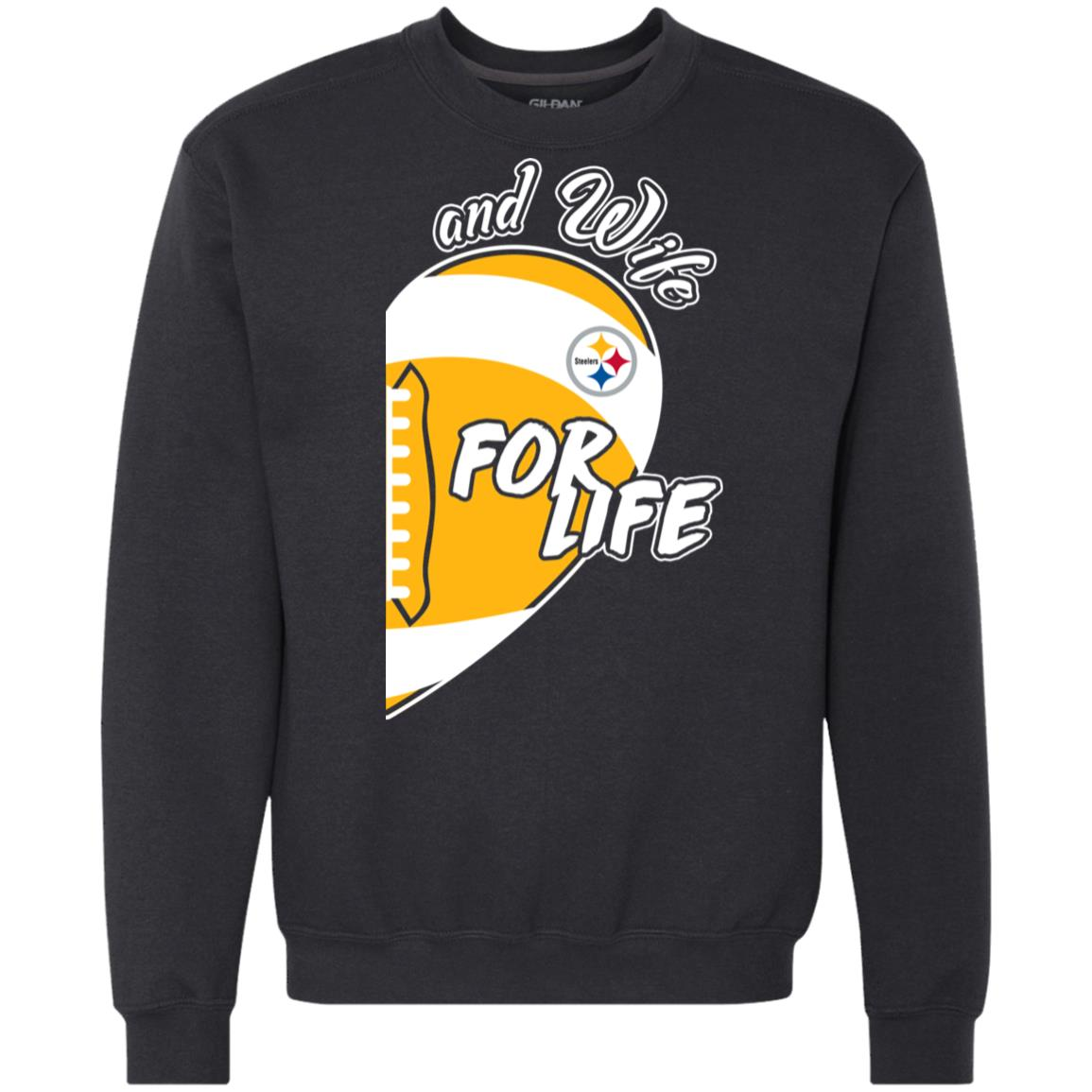 best service f04b3 ebc49 Steerlers and Wife For Life Pittsburgh Steelers T shirts Hoodies,  Sweatshirts