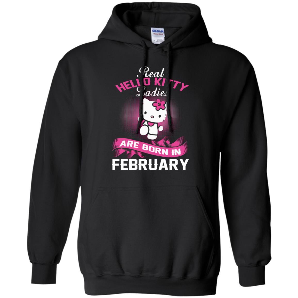 88f899c3472 Real Hello Kitty Ladies Born In February Hello Kitty T shirts Hoodies,  Sweatshirts