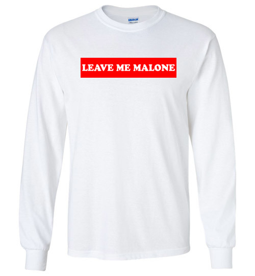 $23.95 – Leave me Malone funny Maleficent Long Sleeve T-Shirt