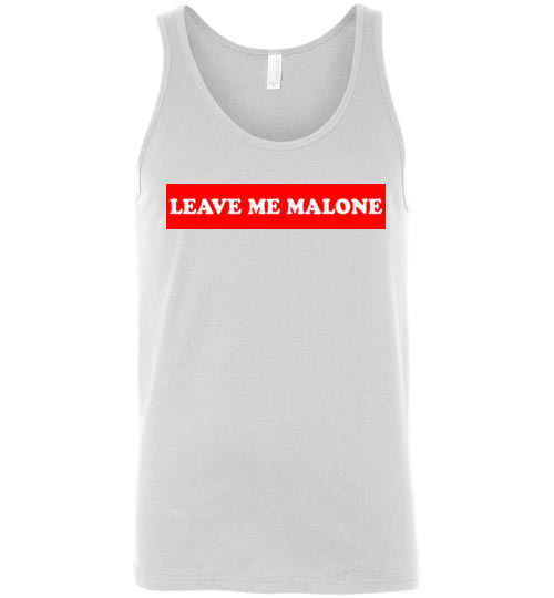 $24.95 – Leave me Malone funny Maleficent Unisex Tank