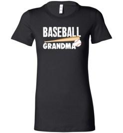 $19.95 – Baseball Grandma T-Shirts Gift for Cool Grandmother Lady T-Shirt