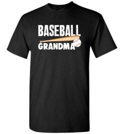 $18.95 – Baseball Grandma T-Shirts Gift for Cool Grandmother T-Shirt