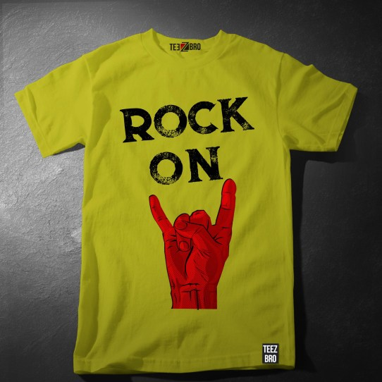 Rock on 2 tshirt