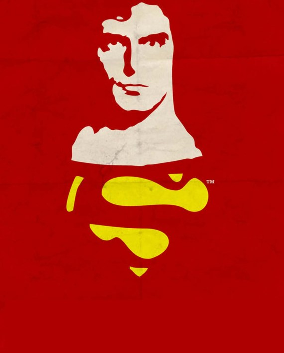 Superman Red Wall Art