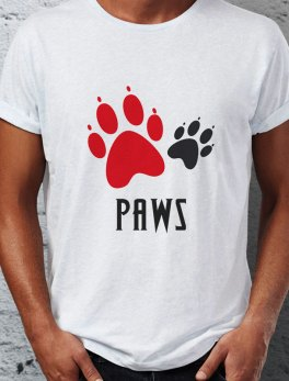 Paws dog lovers Tshirt online