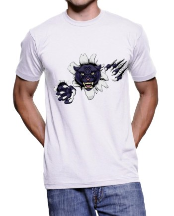 Black Panther T-Shirt white