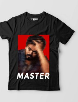 Thalapathy Vijay Diehard Look Mad Fans Master Movie Tshirt