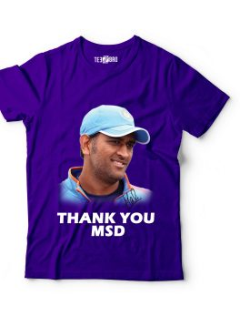Thank You Dhoni Tshirt