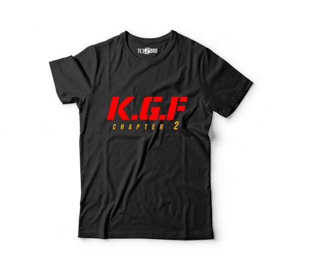 KGF Chapter 2 Title Tshirt Red