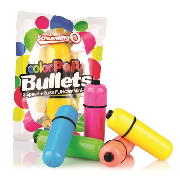Screaming O Colour Pop Bullets - Blue