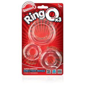 Screaming O RingO's x 3 (Clear)