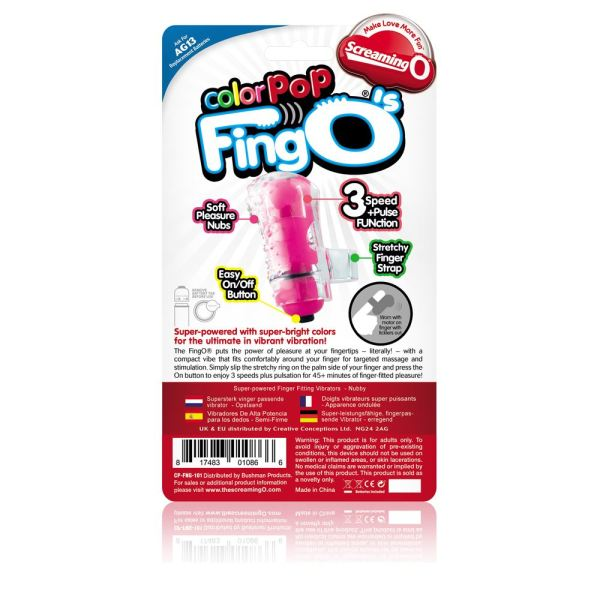 Screaming O Colour Pop FingO's - Pink