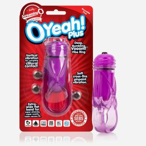 Screaming O OYeah! Plus Ring - Purple