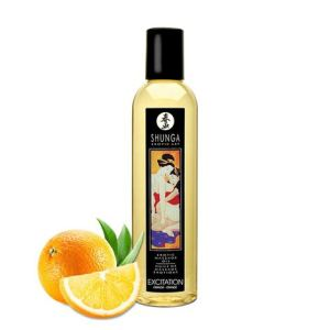 Shunga Massage Oil Excitation (Orange)