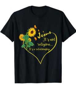 It's A Relationship Sunflower Shirts