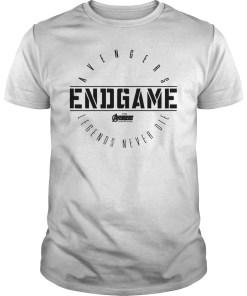 Marvel Avengers Endgame Circle Logo Graphic T-Shirt