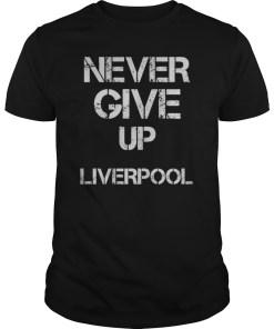 Chapion 2019# Never Give Up Mohamed Salah Tshirt