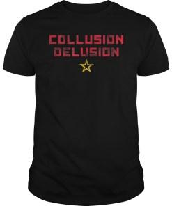 Collusion Delusion Pro-Trump Shirts