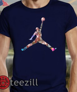 Men's Awesome Jordan GOAT Legend T-Shirt