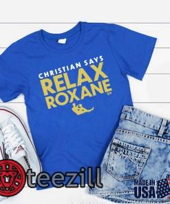 Relax Roxane Blue Shirt