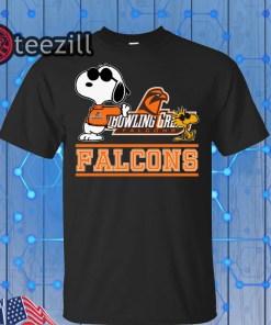 Snoopy Bowling Green Falcons Gift Shirt