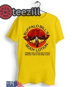 The silence of the lambs buffalo bill's body lotion halloween shirt