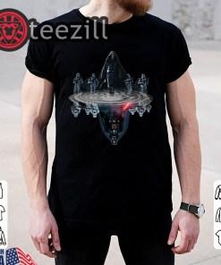 Anakin Skywalker water mirror reflection Darth Vader Star wars shirt unisex tshirt