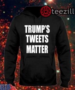 Men's Trump's Tweets Matter Shirt