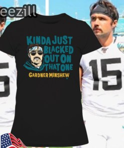 Gardner Minshew Blacked Out T-Shirt