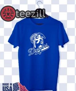 Los Angeles Dodgers Baseball Spring Training T-Shirt Tupac Shakur Justin Turner Shirt