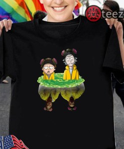 Men's Rick And Morty Water Mirror Breaking Bad T-Shirt