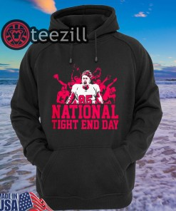NATIONAL TIGHT END DAY SHIRT – LIMITED EDITION TEE Hoodis